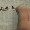 Thumbnail image for Top Ten Medieval Embroidery Stitches- #8 Double Running Stitch